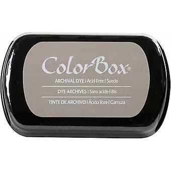 Clearsnap ColorBox arkivfargefarget blekk i full størrelse semsket skinn