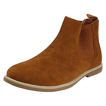 Mens Malvern Pull On Chelsea Ankle Boots