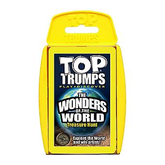 The Wonders of the World Top Trumps Card Game