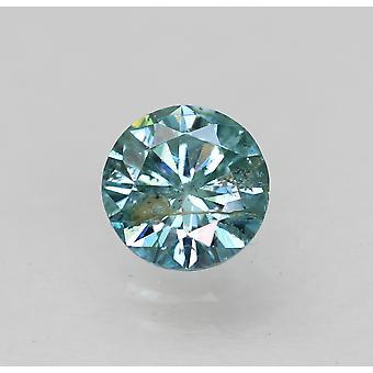 Cert 0.56 Karat Himmel blau Runde brillante verbesserte natürliche lose Diamant 5,33 mm
