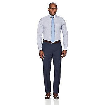 Abotoado men's fit sob medida padrão de colarinho não-ferro camisa de vestido, ...