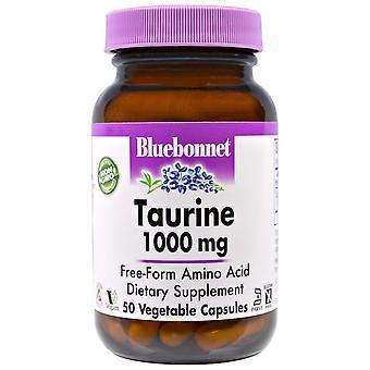 Bluebonnet Nutrition, Taurine, 1,000 mg, 50 Veggie Caps