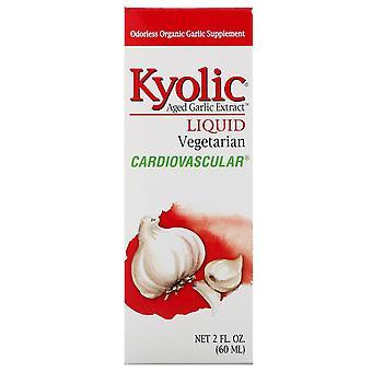 Kyolic, Åldern Vitlök Extrakt, Vätska, 2 fl oz (60 ml)
