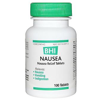 MediNatura, BHI, Nausea, 100 Tablets