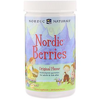 Nordic Naturals, Nordic Berries, Multivitamin Gummies, Original Flavor, 200 Gumm