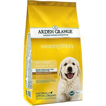 Arden Grange Weaning/Puppy - 2kg