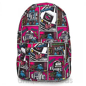 Disney X Loungefly Star Wars R2-d2 Comic Print Backpack