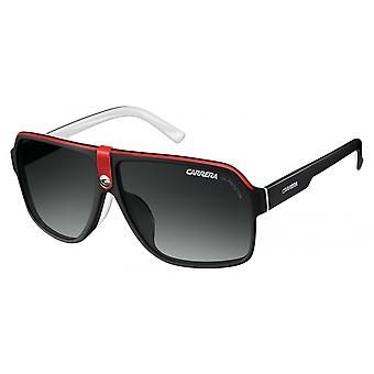 Lunettes Unisexe Carrera 33 noir/rouge avec verre gris