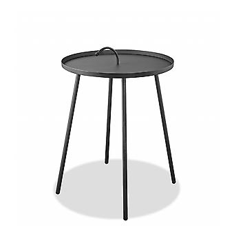 """20"""" X 20"""" X 25"""" Gray Side Table"""