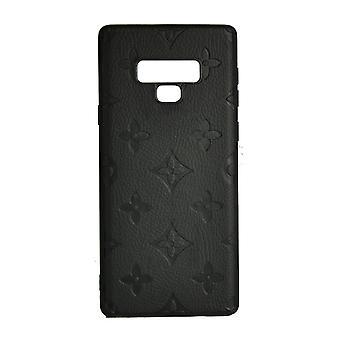 Funda de teléfono a prueba de golpes Monogram GG Para Samsung Nota 9 (Negro)