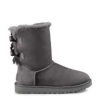 UGG Bailey Bow Ii Sheepskin Boots Grey