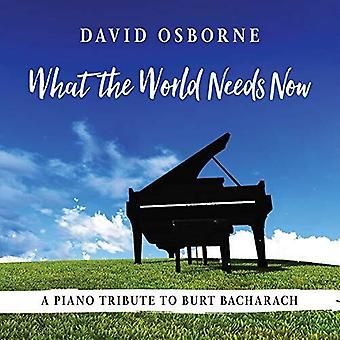 What The World Needs Now [CD] USA import