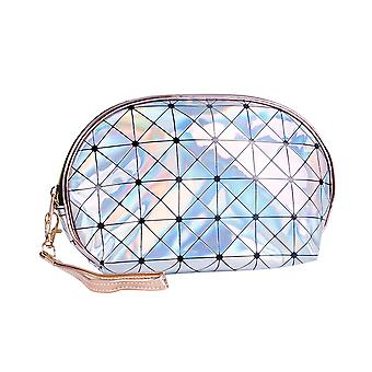 YANGFAN Laser Shell Portable Waterproof Makeup Bag