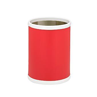 Rouge 10.75 Pouces Rd. Panier à déchets