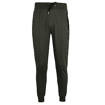 Hugo boss men's green marl tracksuit pants