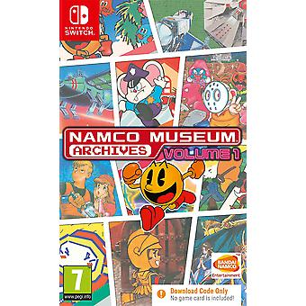 Namco Museum Archives Volume 1 Nintendo Switch Game [Code In A Box]