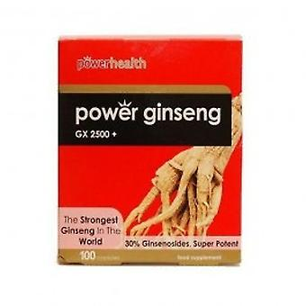 Power Health - Power Ginseng GX2500 100 capsule