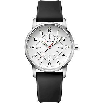 ヴェンゲル - 腕時計 - ユニセックス - アベニュー - 01.1641.113 - シルバーホワイト、 42 mm