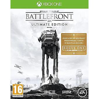 Jeu Xbox One de Star Wars Battlefront Ultimate Edition