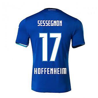 2020-2021 Hoffenheim Joma Thuis voetbalshirt (SESSEGNON 17)