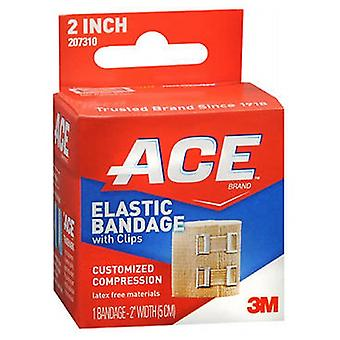 Ace Elastic Bandage With Clips, 2 inches 1 each