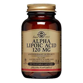 Solgar Alpha Liponsäure, 120 mg, 60 V Kapseln