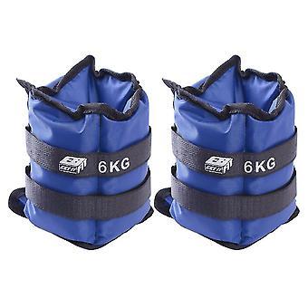 Belastung der blauen Gelenke 12 kg (2 x 6 kg) Eb Fit
