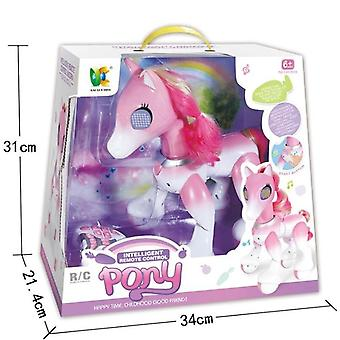 Big Remote Control Horse Unicorns Robot, Cute Animal Intelligent Induction