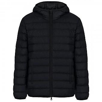 EA7 Emporio Armani Hooded Puffer Jacket Navy 6HPB48 PN3BZ
