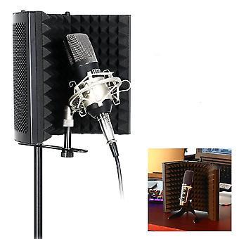 Studio Microphone Isolation Shield