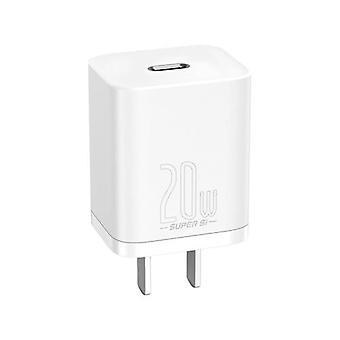 باسوس سوبر سي USB C شاحن صغير 20W