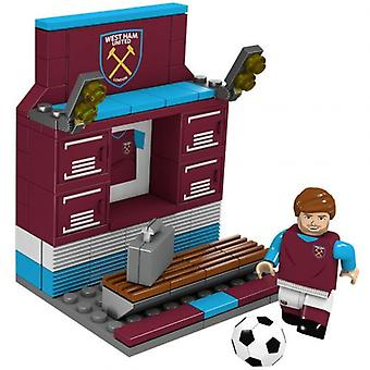 West Ham United Brick Changing Room