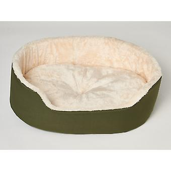 Dog- cat pillow Luc - Oxford Green - Size S