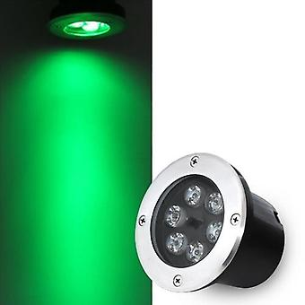 Waterproof Outdoor Ip68 Recessed Garden Landscape Square Lawn Remote Rgb Lamp