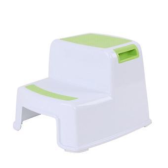 2 Schritt Kinder Hocker/Toilette Töpfchen Training Slip resistent für Badezimmer Küche Tb