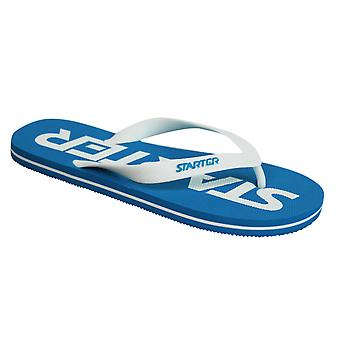 Starter Phoenix Mens Flip Flops Slip On Thong Sandals CPE00022 ROYAL/WHITE Y30B