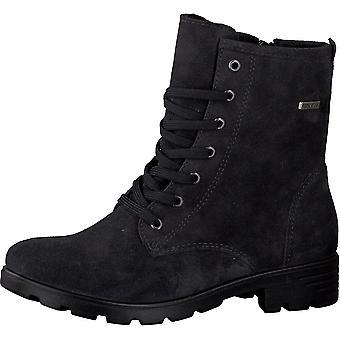 RICOSTA Laced Tex Boot Gris foncé
