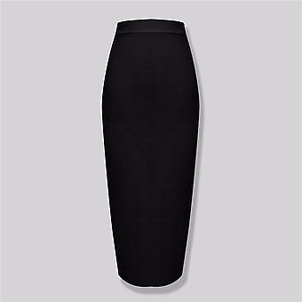 Women Candy Sexy Midi Knee Length Bandage Skirt