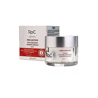 RoC Pro Define Firming Face Cream Anti Sagging 50ml Improves Firmness