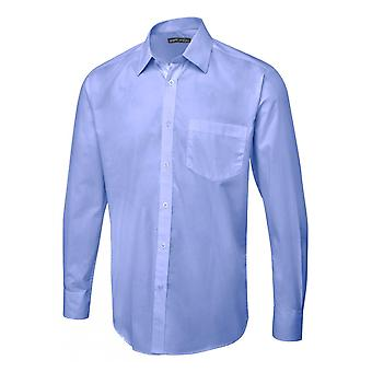 Uneek Mens Long Sleeve Poplin Shirt UC713