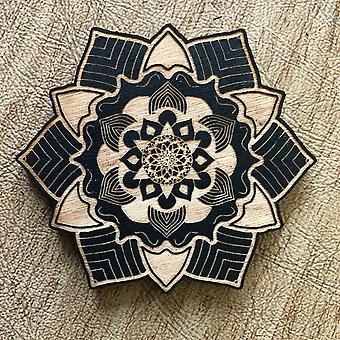 Painted Mandala Magnet