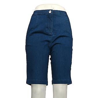 Linea de Louis Dell'Olio Women's Shorts Regular Denim Bermuda Blue A306294