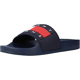 Tommy Jeans Sandals Flag Pool Sl Couleur C87navy