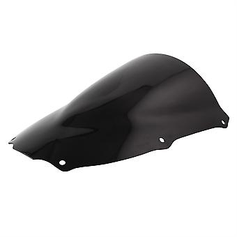 Airblade Dark Smoked Double Bubble Screen per Kawasaki ZX6R J1-2-636 A1P 2000-02