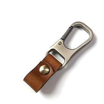 Aito nahka-avain älykäs lompakko / Diy Car avainnippu