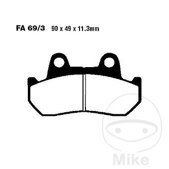 EBC V - Semi Sintered Touring Brake Pads (FA069/3V)
