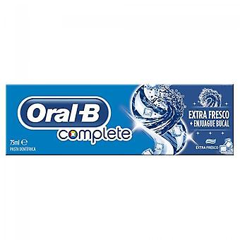 Oral B Dentifrice extra frais complet + Rincer 75 ml