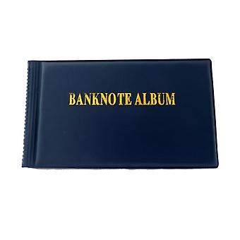 Banknote Album, Paper Money Currency Stock Collection Protection Case