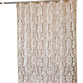 Rideau de douche en plastique épaissi imperméable à l'eau et rideau de douche à l'épreuve du mildiou