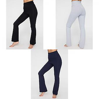 American Apparel naisten/Ladies Plain Cotton spandex Jersey jooga pohjat